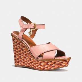 Coach New YorkCoach Cross Band High Wedge Sandal