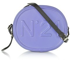 N°21 Women's Purple Leather Shoulder Bag.