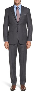 Hart Schaffner Marx Men's Classic Fit Stripe Wool Suit