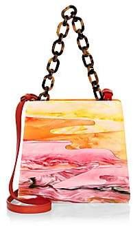 Edie Parker Edie Parker Women's Hardbody Acrylic Top Handle Bag