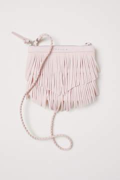 H&M Shoulder Bag with Fringe - Pink