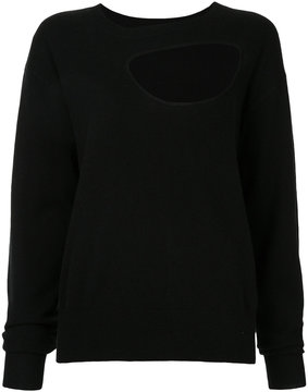 CHRISTOPHER ESBER reversible negative space sweater