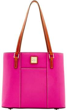 Dooney & Bourke Pebble Grain Small Lexington Shopper Bag - MAGENTA - STYLE