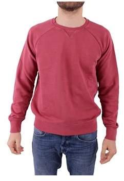Sun 68 Men's Burgundy Cotton Sweatshirt.
