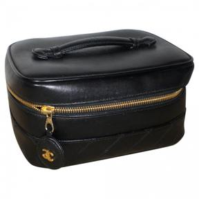 Timeless leather vanity case