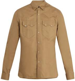 Lanvin Point-collar cotton shirt
