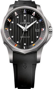 Corum 403.100.04/F371 AN10 Admirals Cup titanium and rubber strap watch