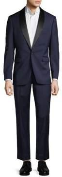 Saks Fifth Avenue BLACK Wool Tuxedo