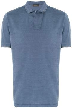 Loro Piana classic fitted shortsleeved polo shirt