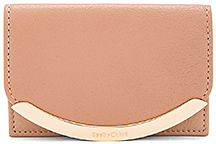 See By Chloe Card Holder in Rose.