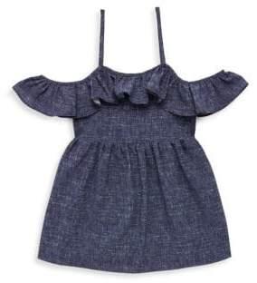 Milly Minis Toddler's, Little Girl's& Girl's Bella Denim Dress