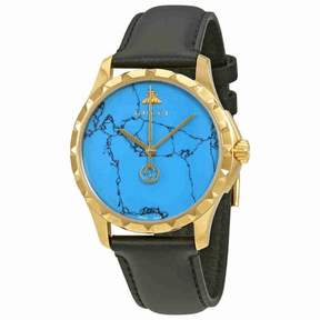 Gucci G-Timeless Turquoise Blue Dial Men's Watch YA126462
