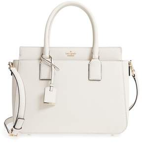 Kate Spade Cameron Street - Sally Leather Satchel - WHITE - STYLE