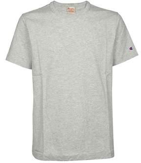 Champion Men's Grey Cotton T-shirt.