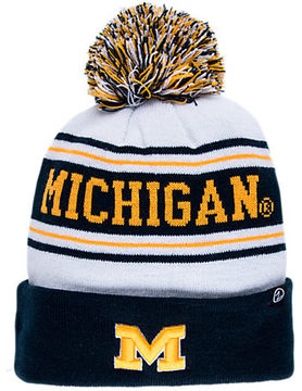 Zephyr Michigan Wolverines College Arctic Knit Hat