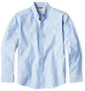 Izod EXCLUSIVE Long Sleeve Oxford Shirt - Boys 8-20