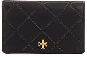 Tory Burch Georgia Medium Slim Snap Wallet - DAHLIA PINK - STYLE