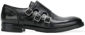 Alexander McQueen triple strap shoes