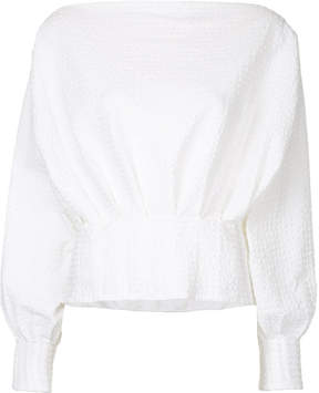 CHRISTOPHER ESBER off shoulder blouse