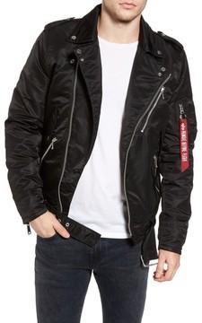 Alpha Industries Men's Outlaw Biker Jacket