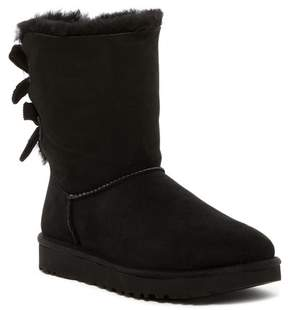 UGG Bailey Bow Corduroy Genuine Sheepskin Boot