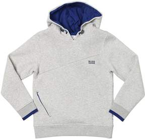 HUGO BOSS Hooded Cotton Sweatshirt