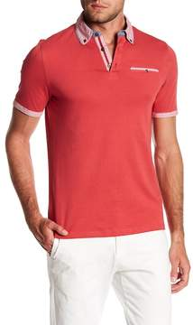 English Laundry Solid Contrast Polo