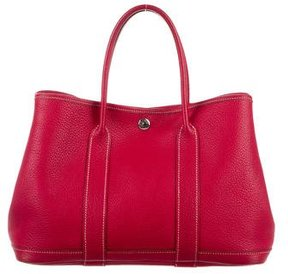 Hermes Garden Party Tote - RED - STYLE