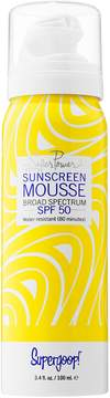 Supergoop! Super Power Sunscreen Mousse Broad Spectrum SPF 50