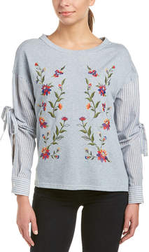 Flying Tomato Embroidered Top