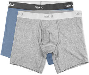 Naked Pack Of 2 Boxer Briefs