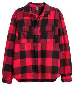 H&M Plaid Flannel Shirt
