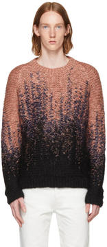 Lemaire Multicolor Hand Knit Sweater
