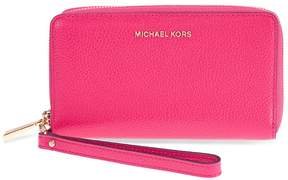Michael Kors Mercer Large Phone Wristlet - Ultra Pink - ONE COLOR - STYLE