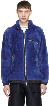 Nonnative Blue Faux-Fur Explorer Jacket