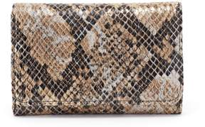 Hobo Jill Snake-Print Wallet