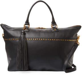 Deux Lux Women's Studded Weekender Shoulder Bag