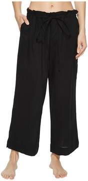 Commando Cotton Voile Crop Pants CV102 Women's Pajama