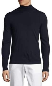 Pal Zileri Solid Turtleneck Pullover