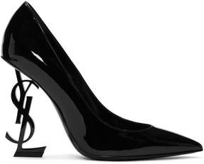 Saint Laurent Black Patent Opyum Pumps