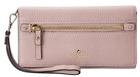 Kate Spade Cobble Hill Rae Leather Wallet. - GREY - STYLE