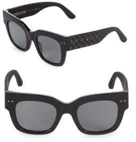 Bottega Veneta Tinted 49MM Square Sunglasses