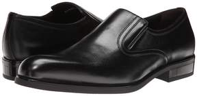 a. testoni Nappa Slip On w/ Rubber Sole Side Vents Men's Slip on Shoes
