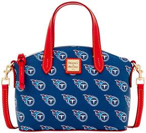 Dooney & Bourke Tennessee Titans Ruby Mini Satchel Crossbody - BLUE - STYLE