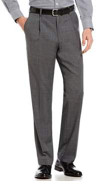 Hart Schaffner Marx Plaid Pleated Trouser Pants