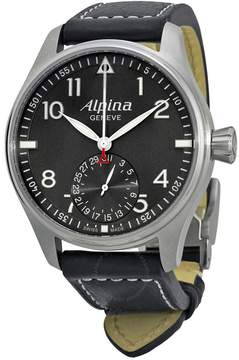 Alpina Startimer Pilot Manufacture Automatic Grey Dial Men's Watch