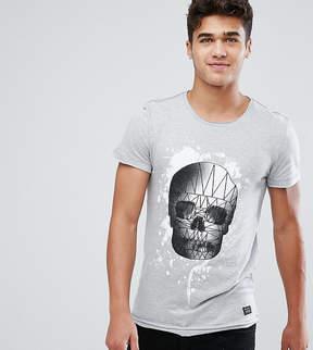 Blend of America Geometric Skull Print T-Shirt