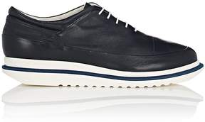 Emporio Armani Men's Leather Platform Balmorals