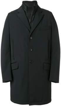 Fay hybrid single breasted coat