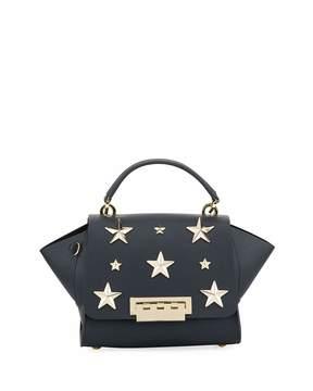 Zac Posen Eartha Iconic Top Handle Bag, Navy